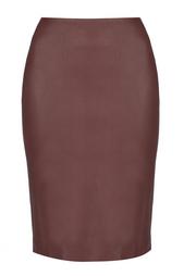 Кожаная юбка Panel Marta Diane von Furstenberg