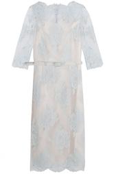 Платье из хлопка и полиамида Erdem