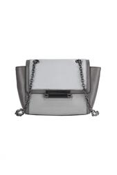 Кожаная сумка Mini Cb Emb Lzrd Diane von Furstenberg