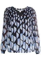 Шелковая блузка Maiko Chiffon Diane von Furstenberg