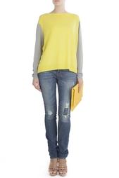 Пуловер из шерсти, шелка, хлопка и кашемира Dana Diane von Furstenberg