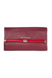 Кожаный клатч Envelope Emb Lzrd Diane von Furstenberg