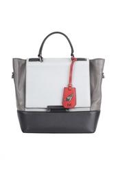 Кожаная сумка Top Diane von Furstenberg