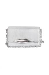 Кожаный клатч Flirty Mini Xbody Diane von Furstenberg