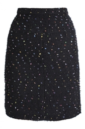 Твидовая юбка (80-е гг.) Chanel Vintage