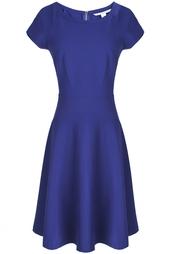 Платье из вискозы, полиамида и эластана Delyse Diane von Furstenberg