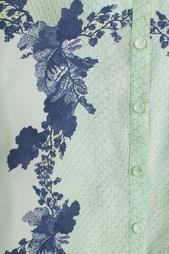 Шелковая рубашка Erdem