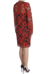 Хлопковое платье Gadie Two Toned Lace Diane von Furstenberg