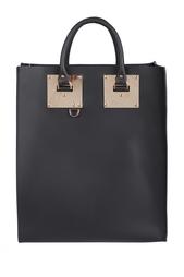 Кожанная сумка Sophie Hulme