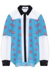 Шелковая блузка Prabal Gurung