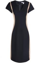 Платье из вискозы Dayton Leather Diane von Furstenberg