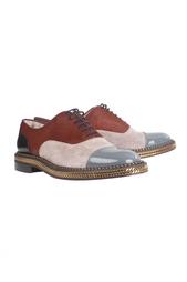 Кожанные ботинки Latcho Flat Patent/VV/Pony Lux/GG Christian Louboutin