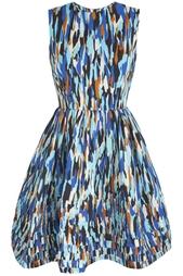 Платье со складками Jonathan Saunders