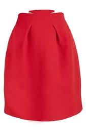Шерстяная юбка Roland Mouret