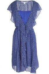 Шелковое платье Winifred Diane von Furstenberg