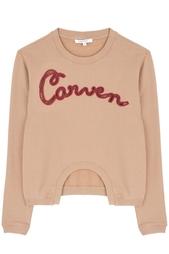 Хлопковый джемпер Carven