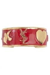 Металлический браслет Yves Saint Laurent Vintage
