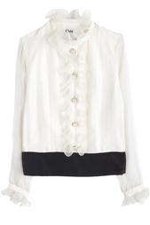 Шелковая рубашка Chloe Vintage