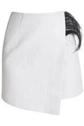 Хлопковая юбка с перьями Alexandr Rogov