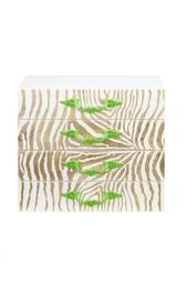 Шкатулка для очков Gold Zebra Camilla