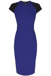 Платье из вискозы Victoria Beckham
