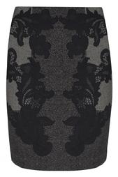 Шерстяная юбка Maui Diane von Furstenberg