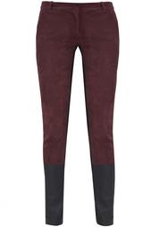 Кожаные брюки Cecily Diane von Furstenberg