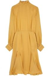 Шелковое платье (70-е гг.) Christian Dior Vintage