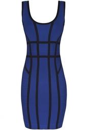 Платье из вискозы Mae Hervé Léger