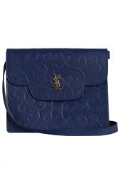 Кожаная сумка (80-е) Yves Saint Laurent Vintage