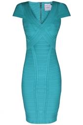 Платье из вискозы Layton Hervé Léger