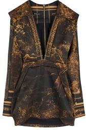 Платье из полиэстера Balmain