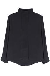 Шелковая блузка Balmain