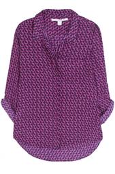 Шелковая блузка Lorelei Print Diane von Furstenberg