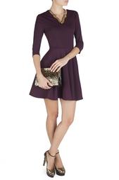 Шелковое платье Jeannie V-neck Elbow Diane von Furstenberg