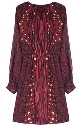 Шелковое платье Kit Print Chiff Diane von Furstenberg