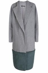 Шерстяное пальто Vika Gazinskaya