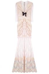 Хлопковое платье Alessandra Rich