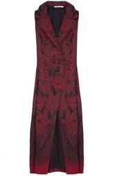 Шелковое платье Alessandra Rich