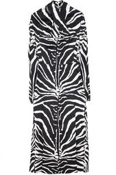 Шелковое платье Carven
