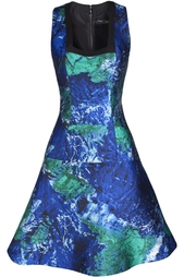 Платье из полиэстера Proenza Schouler