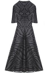 Платье из ацетата Carven