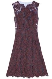 Кружевное платье Carven