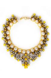Ожерелье с кристаллами Marisa Safran Shourouk