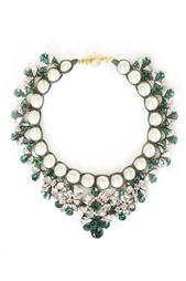 Ожерелье с кристаллами Marisa Emerald Shourouk