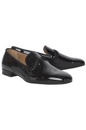 Кожаные туфли Watson Flat Patenty/Pony/GG Christian Louboutin