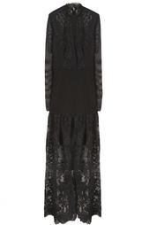 Платье из хлопка Alessandra Rich