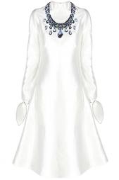 Шелковое  платье Vika Gazinskaya
