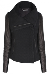 Хлопковая куртка Lulu Tech Boucle Diane von Furstenberg
