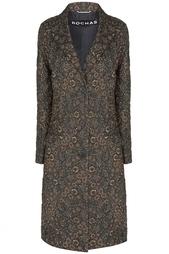 Шерстяное пальто Rochas
